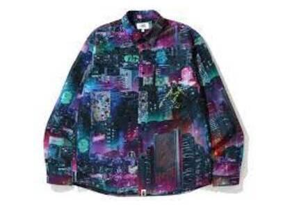 Bape Neon Tokyo Shirt Black (SS20)の写真