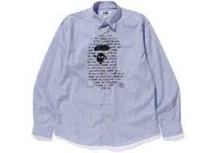 Bape x Comme des Garcons Shirt Blue/Black (SS20)の写真