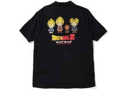 Bape x Dragon Ball Z Baby Milo Super Saiyan S/S Shirt Black (SS20)の写真