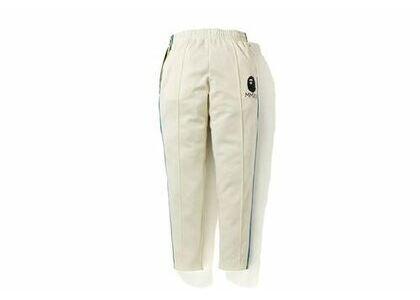 Bape A Bathing Ape Side Tape Jersey Pants Ivory (SS20)の写真