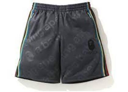 Bape A Bathing Ape Side Tape Jersey short Grey (SS20)の写真