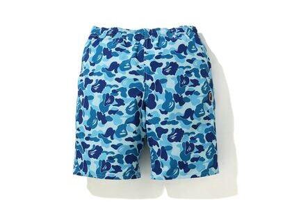 Bape ABC Camo Beach short (SS20) Blue (SS20)の写真