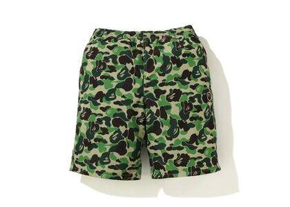 Bape ABC Camo Beach short (SS20) Green (SS20)の写真
