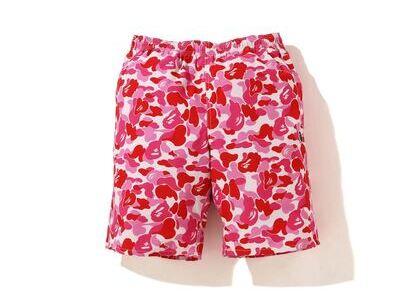 Bape ABC Camo Beach short (SS20) Pink (SS20)の写真
