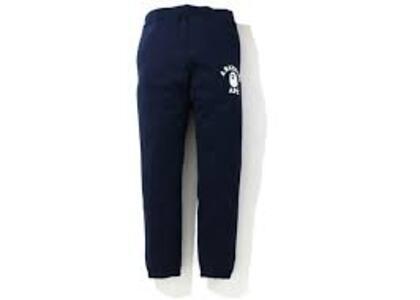 Bape Classic College Slim Sweat Pants Navy (SS20)の写真