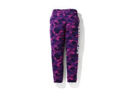 Bape Color Camo Logo Tape Sweatpants Purple (SS20)の写真