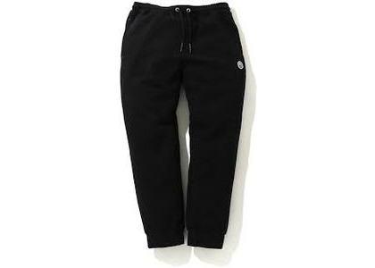 Bape Double Knit Jogger Pants Black (SS20)の写真