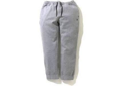 Bape Double Knit Jogger Pants Grey (SS20)の写真