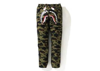 Bape Gore-Tex 1st Camo Shark Track Pants Green (SS20)の写真