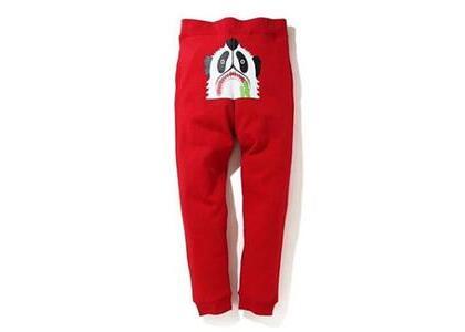 Bape Panda Slim Sweatpants Black (SS20)の写真