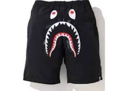 Bape Shark Beach short (SS20) Black (SS20)の写真