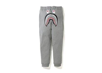 Bape Shark Line Rib Slim Sweatpants Grey (SS20)の写真