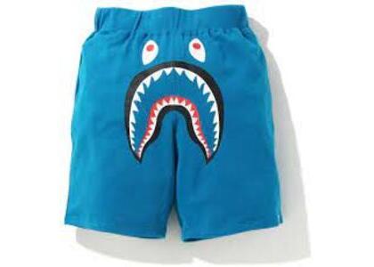 Bape Shark Wide Sweatshort Blue (SS20)の写真