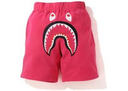 Bape Shark Wide Sweatshort Pink (SS20)の写真