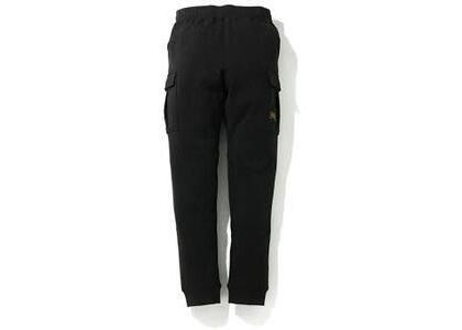Bape Side Pocket Military Sweatpants Black (SS20)の写真