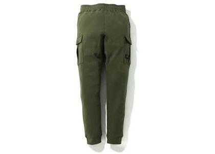 Bape Side Pocket Military Sweatpants Olive (SS20)の写真