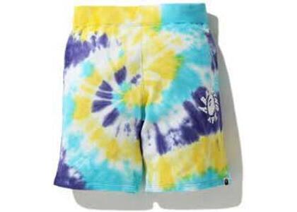 Bape Tie Dye Sweat short Multi (SS20)の写真