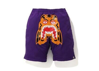 Bape Tiger Beach short Purple (SS20)の写真