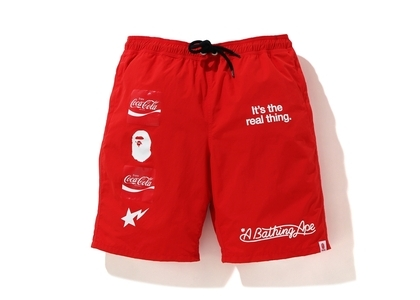 Bape x Coca Cola short Red (SS20)の写真