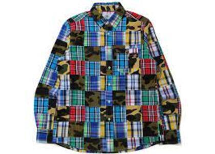 Bape Patchwork Shirt Multi (SS20)の写真