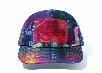 Bape Neon Tokyo Panel Cap Black (SS20)の写真