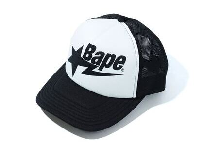 Bape Sta Mesh Cap Black (SS20)の写真