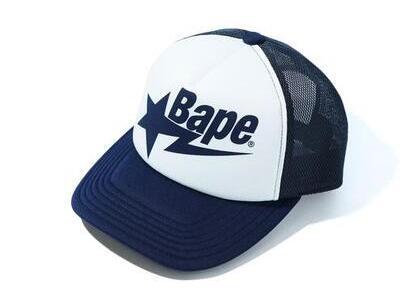 Bape Sta Mesh Cap Navy (SS20)の写真
