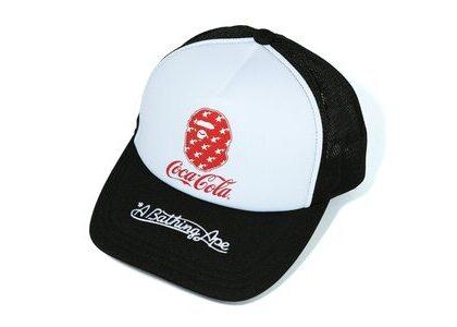 Bape x Coca Cola Mesh Cap Black (SS20)の写真
