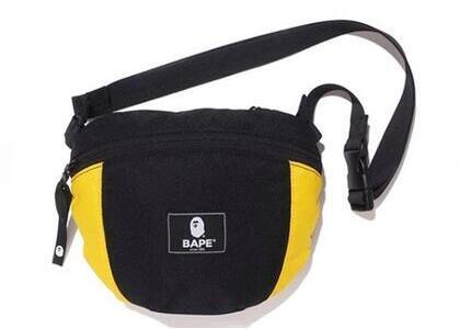 Bape 2tone Shoulder Bag Yellow (SS20)の写真