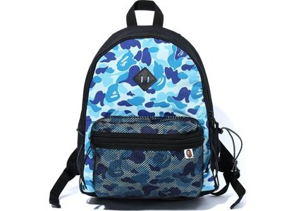 Bape ABC Camo Bungee Cord Day Pack Blue (SS20)の写真
