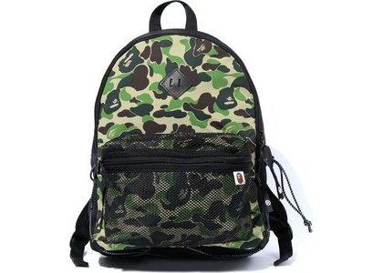 Bape ABC Camo Bungee Cord Day Pack Green (SS20)の写真