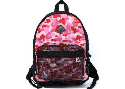 Bape ABC Camo Bungee Cord Day Pack Pink (SS20)の写真