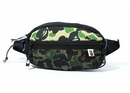 Bape ABC Camo Bungee Cord Waist Bag Green (SS20)の写真