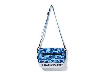 Bape ABC Camo Double Strap Bag Blue (SS20)の写真