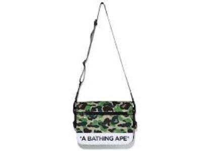 Bape ABC Camo Double Strap Bag Green (SS20)の写真