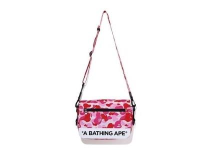 Bape ABC Camo Double Strap Bag Pink (SS20)の写真