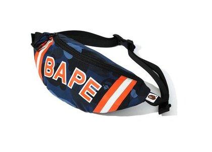 Bape Color Camo Waist Bag Navy (SS20)の写真
