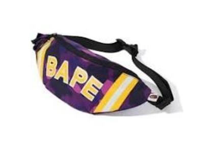 Bape Color Camo Waist Bag Purple (SS20)の写真