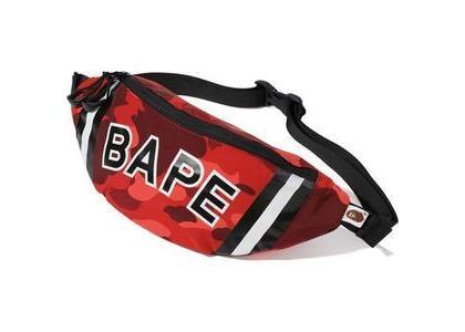 Bape Color Camo Waist Bag Red (SS20)の写真