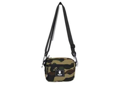 Bape Cordura 1st Camo Mini Shoulder Bag Green (SS20)の写真