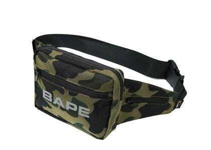 Bape Cordura 1st Camo Waist Bag Green (SS20)の写真