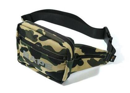 Bape Cordura 1st Camo Waist Bag Yellow (SS20)の写真