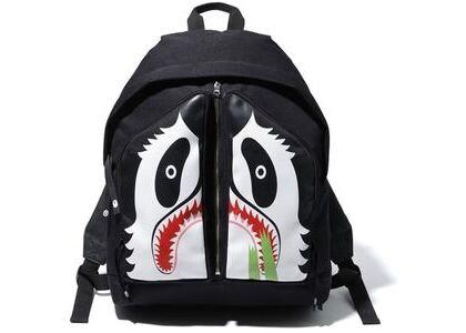 Bape Panda Day Pack Black (SS20)の写真