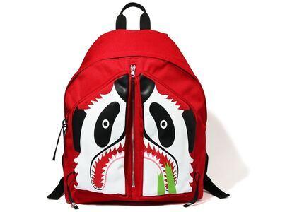 Bape Panda Day Pack Red (SS20)の写真