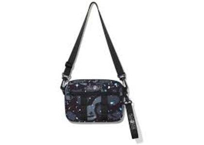 Bape Space Camo Shoulder Bag Black (SS20)の写真