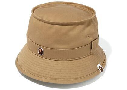 Bape Ape Head One Point Bucket Hat (SS20) Beige (SS20)の写真