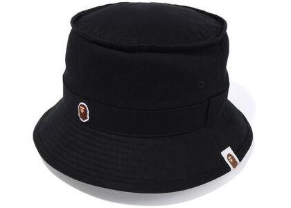 Bape Ape Head One Point Bucket Hat (SS20) Black (SS20)の写真