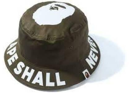 Bape ASNKA Bucket Hat Olive (SS20)の写真