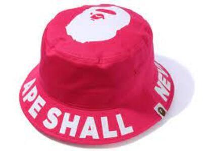 Bape ASNKA Bucket Hat Pink (SS20)の写真
