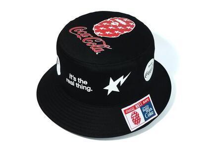 Bape x Coca Cola Bucket Hat Black (SS20)の写真